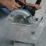 Insulated concrete Forms are easily cut